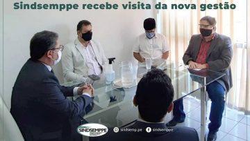 Sindsemppe recebe visita da nova gestão